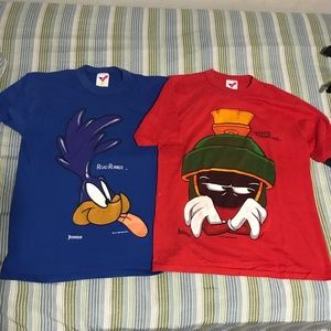 Vintage Looney Tunes shirts